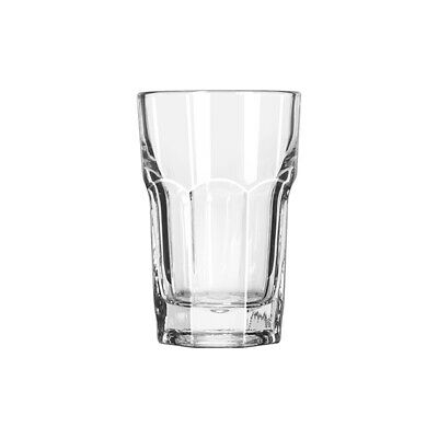 12x Beverage Glass 473mL Libbey Gibraltar Duratuff Tumbler Restaurant Cocktail