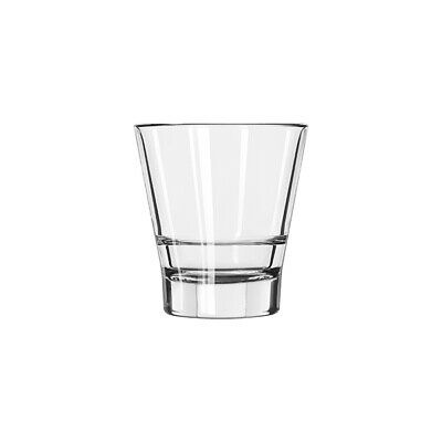 12x Double Old Fashioned Stackable Glass 355mL Libbey Endeavor Tumbler Bar Rocks