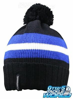 SHIMANO POM POM Fishing Beanie   Hat BRAND NEW   Ottos Tackle World ... d4f3e0932893