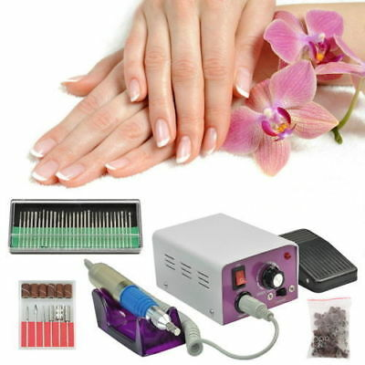Kit Ponceuse Prof Electrique Lime Ongles Manucure Ongle Neuf Modèle Eco Line