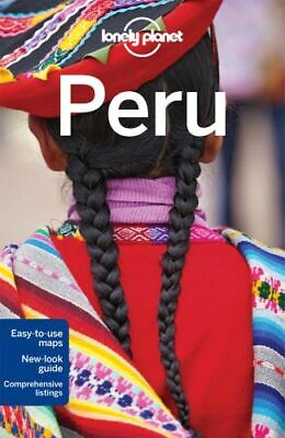 NEW Peru By Lonely Planet Travel Guide Paperback Free Shipping