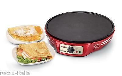 Crepiera Ariete crepes maker piastra antiaderente party time 1000w 183 - Rotex