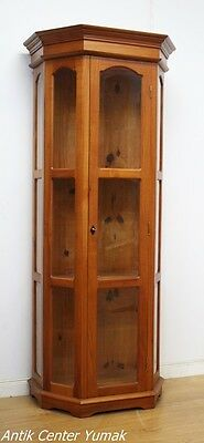 Jugendstil Vitrine Regal Bücher Glas Schrank Buffet Bank Kommode Tisch Antik