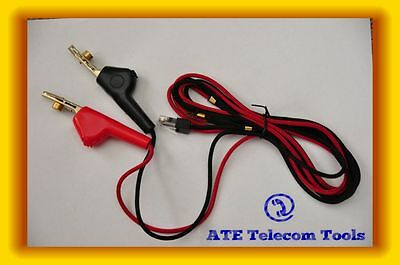 Aegis Butt set/Test phone spare cord Bed Of Nails Clips ( Telstra ISGM )