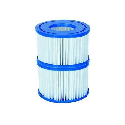 Bestway 2 Filter Cartridges VI 58323, Lay-Z-Spa Miami Monaco Vegas Palm Springs