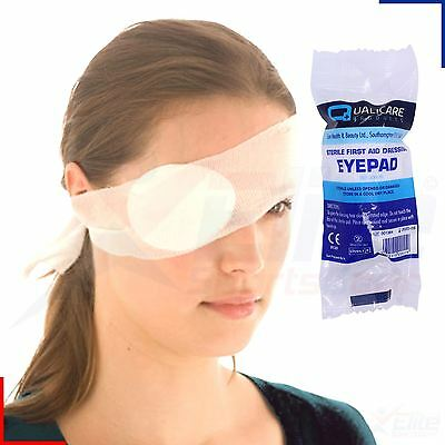Sterile Bandage Round Eye Patch Dressing Pad First Aid Kit HSE Refill Wound