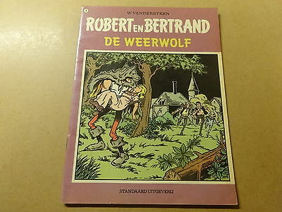 STRIP / ROBERT EN BERTRAND 8: DE WEERWOLF | 1ste druk
