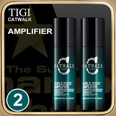 CURLS ROCK AMPLIFIER (150ml) CATWALK TIGI Set of 2