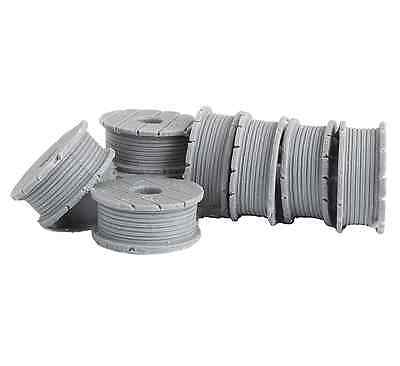 Bar Mills O Scale Cable Spools Resin Casting   Bn   4013