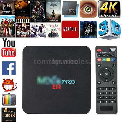 4K S905X Quad Core Android 6.0 Smart TV Box WIFI Fully Loaded 1080P Media Player
