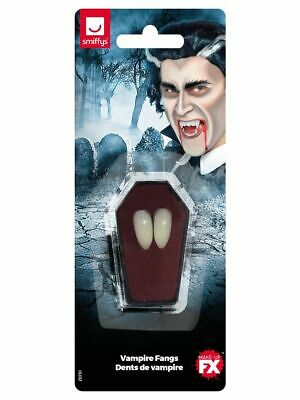 Vampire Fang Tooth Caps Halloween Horror Adults Fancy Dress Accessory