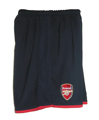New NIKE ARSENAL Football Shorts Blue (Red) Youth Boys Girls L Age 12-13 Years