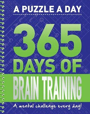 365 Days of Brain Training Book The Cheap Fast Free Post