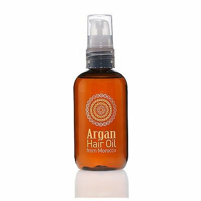 Argan Hair Treatment Oil With 100% Pure Natural Moroccan Ingredients - 100ml