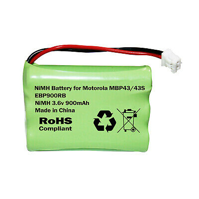 Motorola MBP43 or MBP43s Video Baby Monitor Rechargeable Battery 3.6v 900mAh