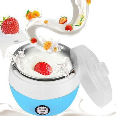 Stainless Steel Automatic Yogurt Maker DIY Delicious Yoghurt Container 220V