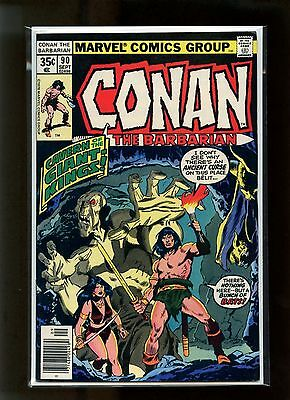 Conan The Barbarian #90 VF- Buscema Belit