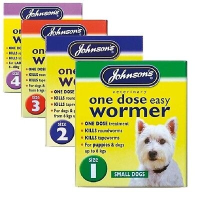 Tablets for Dogs, Small Dogs & Puppy Worming Treatment by Johnsons