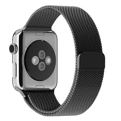 JETech 2118 Apple Watch Band 38mm Milanese Loop Stainless Steel Wrist Strap Band
