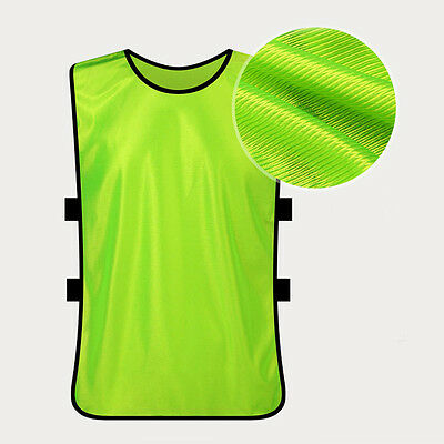FOOTBALL MESH SPORTS TRAINING BIBS BEST QUALITY RUGBY HOCKEY NETBALL Excellent
