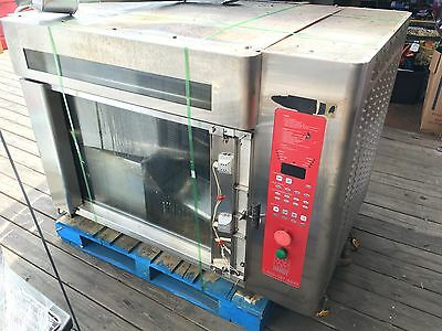 2 Hardt Inferno 3000 Stainless Steel Rotisserie Oven double stack blaze 64 chick