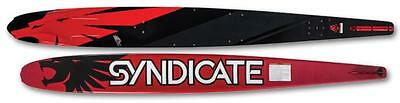 """Ho Skis Syndicate A3 Slalom Water Ski 66"""" – Color: Red/black – New!!!"""
