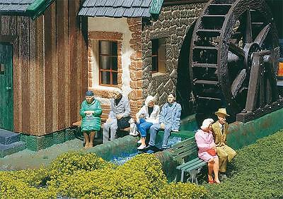 Pola G Scale 1/22.5 Seated Persons (6) Figure Set | Ships From Usa | 331827