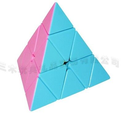New 3X3 Pyramid Triangular Magic Cube Triangle Pyraminx Twist Puzzle Toy Game
