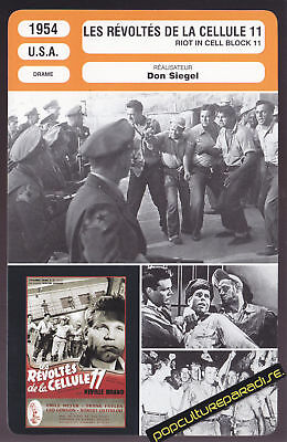 RIOT IN CELL BLOCK 11 1954 Don Siegel MOVIE PHOTO CARD