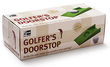 NEW Golfers Golf Ball Mens Womens Sporting Doorstop