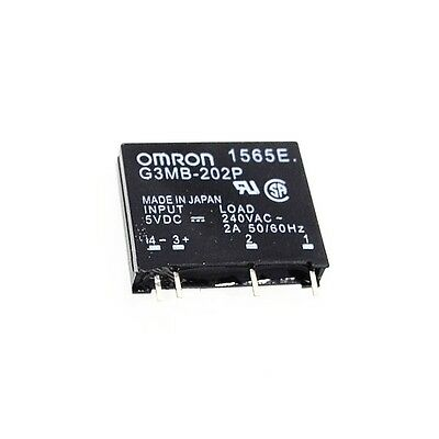 1PCS G3MB-202P DC-AC PCB SSR In 5V DC Out 240V AC 2A Solid State Relay Module