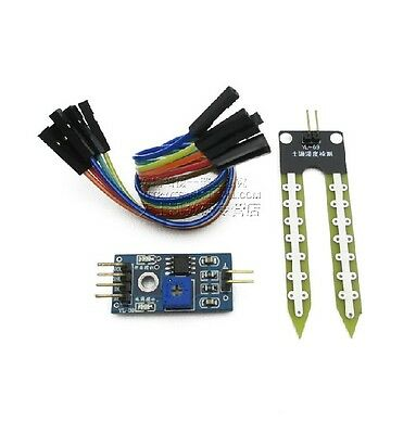 1PCS Soil Hygrometer Detection Module Soil Moisture Sensor For arduino Smart car