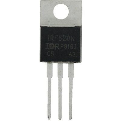 10 x IRF530 IRF530N Power MOSFET N-Channel 17A 100V