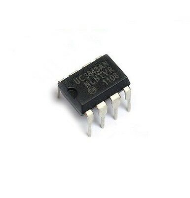 10 Pcs Ic Uc3843 Uc3843An 3843 On Reg Ctrlr Bst Flybk Pwm Dip-8