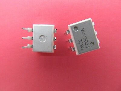 3Pcs Moc3023 Optocoupler Triac-Out 6-Dip Fsc New