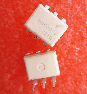10Pcs Moc3011 Fsc Optoisolator 4.17Kv Triac 6Dip New