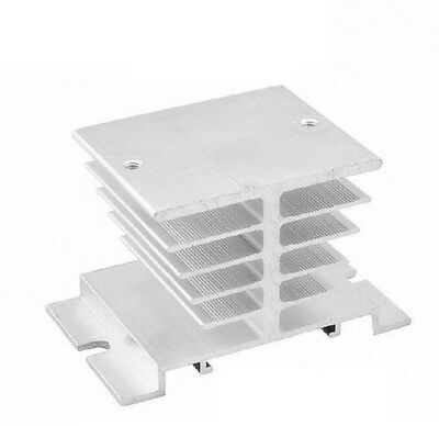 1PCS Aluminum Heat Sink for Solid State Relay SSR Heat Dissipation 10A-40A