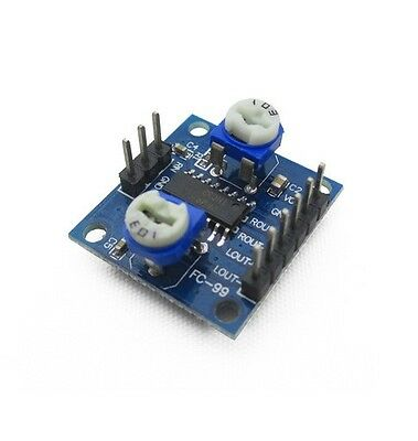 5PCS PAM8406 Digital amplifier board with volume potentiometer 5Wx2 Stereo
