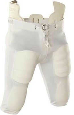 Lot Sale NWT Youth Slotted Adams White Football Pants - 5 Pairs All Size Y2XL