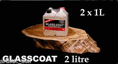 Glass Coat Liquid Gloss 2L  Varnish  Decoupage Pouring Gloss simlar 2 Envirotex