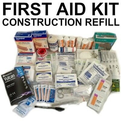 Construction Work Place First Aid Kit FULL Refill BUILDER WORK CODE OF PRACTICE