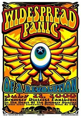 Widespread Panic POSTER Of A Revolution Brewery District Jeff Wood Drowningcreek
