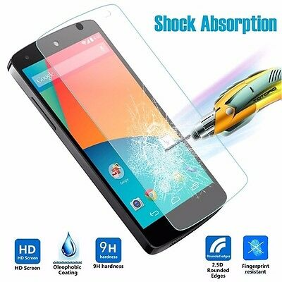 9H Premium Real Tempered Glass Screen Protector Cover Film For LG Google Nexus 5