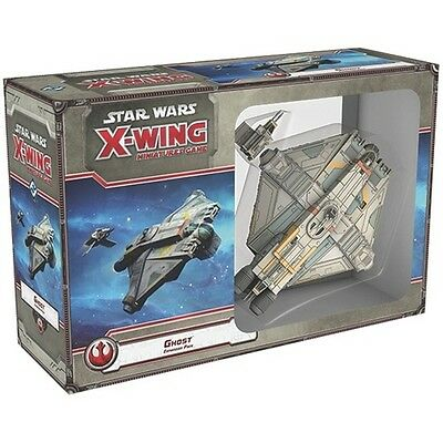 Star Wars X-Wing Ghost X Wing Expansion Pack Fantasy Flight Games