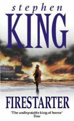 Firestarter by King, Stephen Paperback Book The Cheap Fast Free Post