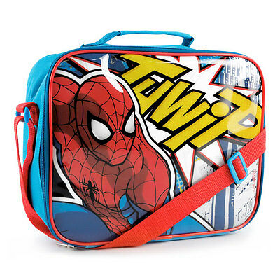 Marvel Ultimate Spider-Man Thwip Lunch Bag, Multi