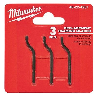 Milwaukee 48-22-4257 3pc Replacement Reaming Blades - IN STOCK