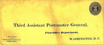 3rd Assistant Postmaster General Scott UO7 Combined Shipping