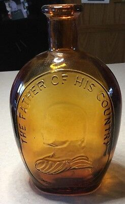 VINTAGE BOTTLE - Wheaton George Washington Father of our Country