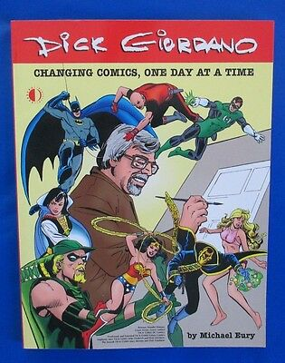 2003 DICK GIORDANO-CHANGING COMICS by Michael Eury TwoMorrows Pub VNM